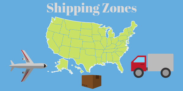 Shipping Zone Guide: How Distance can Affect Fulfillment Costs  & Transit Time for Sellers