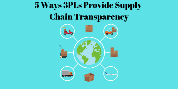 5 Ways 3PLs Provide Supply Chain Transparency